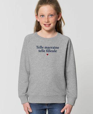 Sweatshirt enfant Telle marraine telle filleule