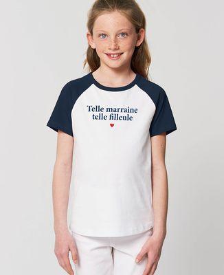 T-Shirt enfant Telle marraine telle filleule