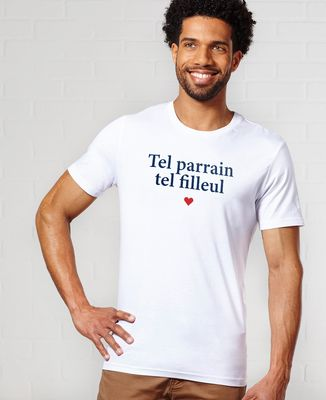 T-Shirt homme Tel parrain tel filleul