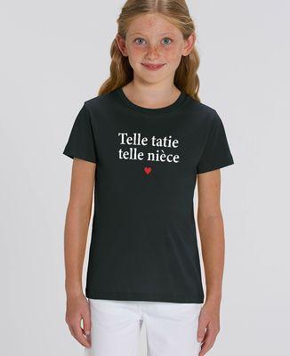 T-Shirt enfant Telle tatie telle nièce