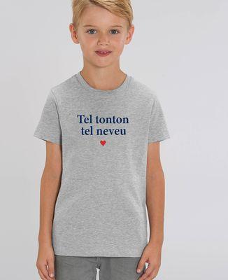 T-Shirt enfant Tel tonton tel neveu