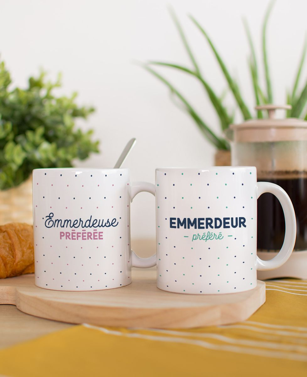 Mug Emmerdeuse préférée