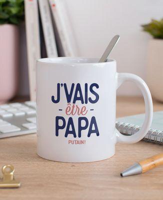 Mug J'vais être papa putain !