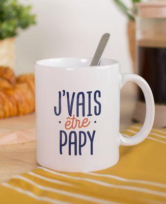Mug J'vais être papy