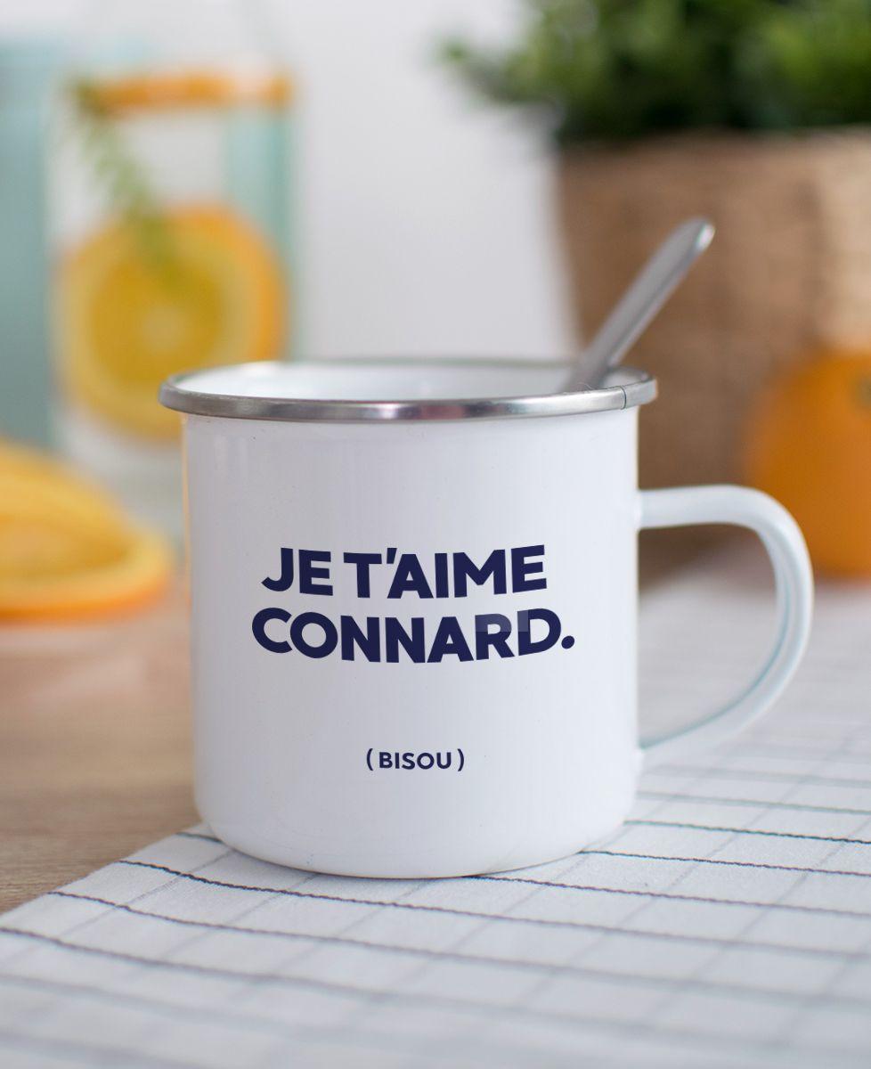 Mug Je t'aime Connard