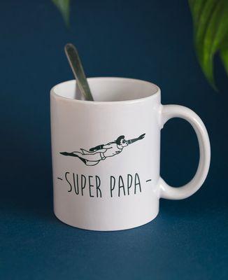 Mug Papa super-héros