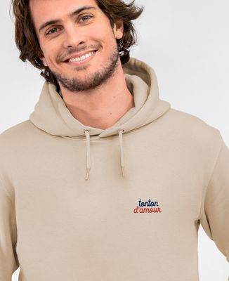 Hoodie homme Tonton d'amour