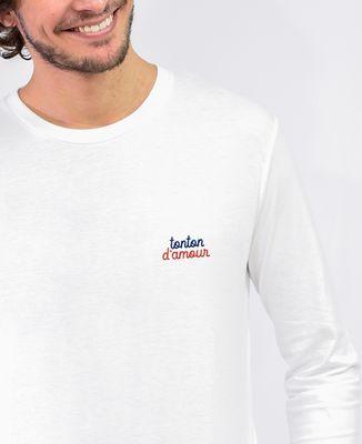 T-Shirt homme manches longues Tonton d'amour