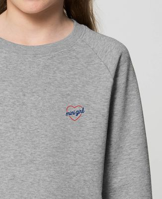 Sweatshirt enfant Mini girl (brodé)