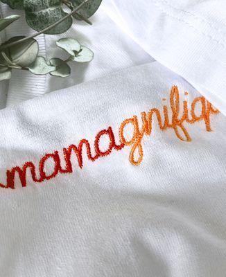 T-Shirt femme Mamagnifique II (brodé)
