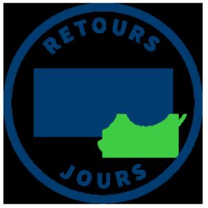 Retours - Retours gratuits pendant 100 jours