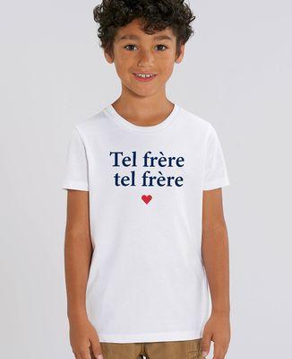 T-Shirt enfant Tel frère tel frère