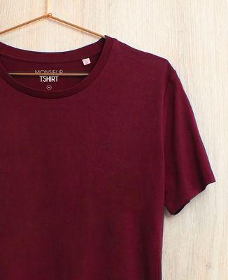 T-Shirt homme Deux étoiles brodé personnalisé