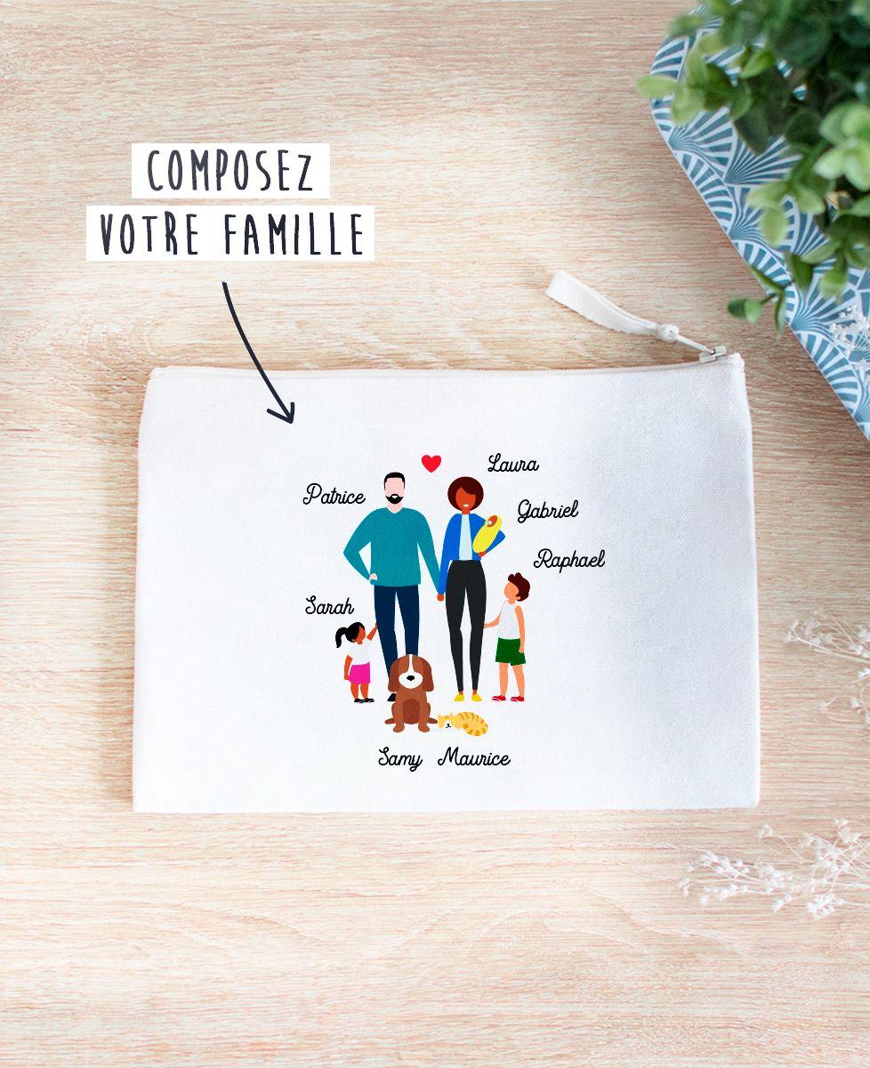 Pochette Famille personnalisée