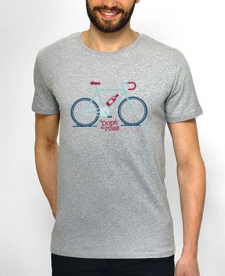T-Shirt homme Dopé au rosé