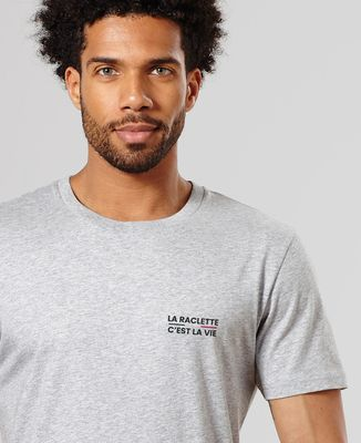 T-Shirt homme La raclette c'est la vie (brodé)