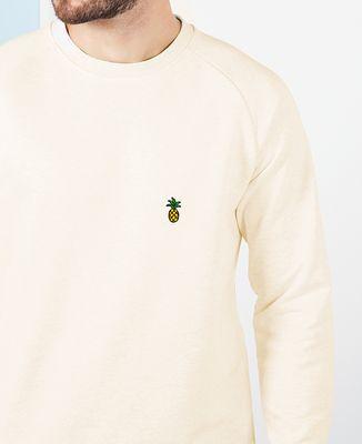 Sweatshirt homme Ananas (brodé)