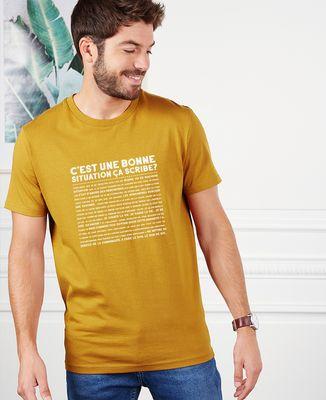 T-Shirt homme C'est une bonne situation scribe ?