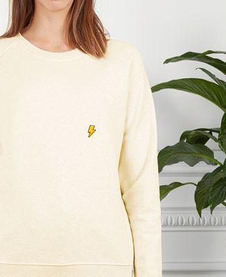Sweatshirt femme Eclair (Brodé)