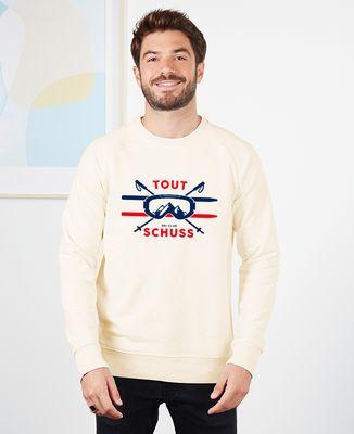 Sweatshirt homme Tout schuss