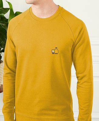 Sweatshirt homme P'tit jaune (brodé)