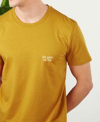 T-Shirt homme Tel père tel fils (brodé)