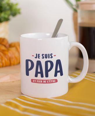 Mug Je suis papa et fier de l'être