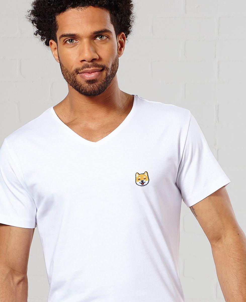 T-Shirt homme Shiba (brodé)