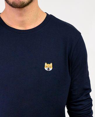 T-Shirt homme manches longues Shiba (brodé)