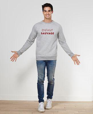 Sweatshirt homme Enfant sauvage