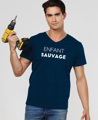 T-Shirt homme Enfant sauvage