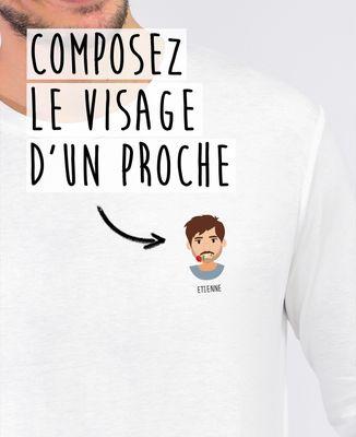 T-Shirt homme manches longues Avatar personnalisé