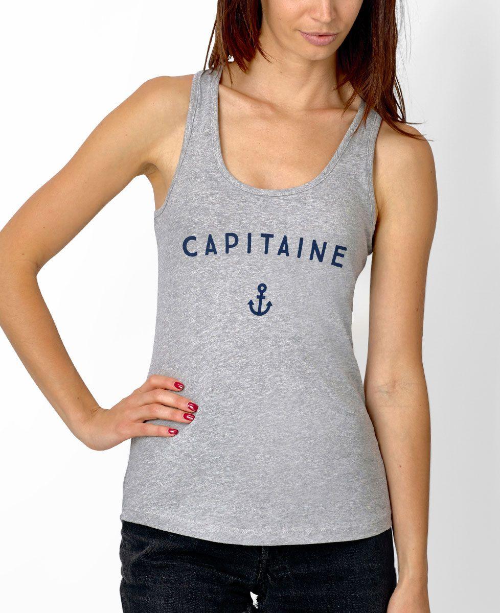 Débardeur femme Capitaine