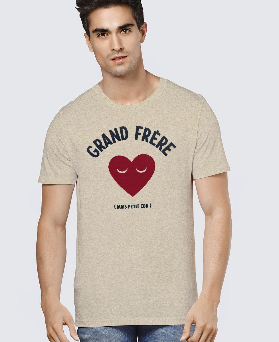 T-Shirt homme Grand frère mais petit con