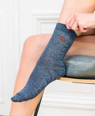 Chaussettes femme Homard (brodé)