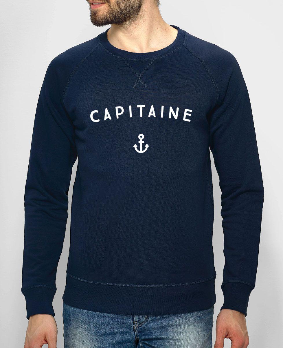Sweatshirt homme Capitaine