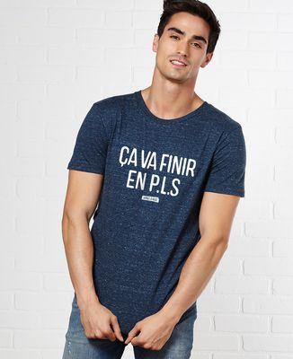 T-Shirt homme Ça va finir en PLS