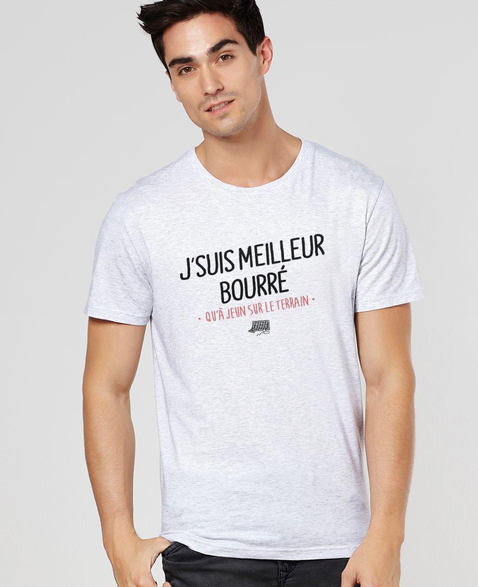 T-Shirt homme J'suis meilleur bourré