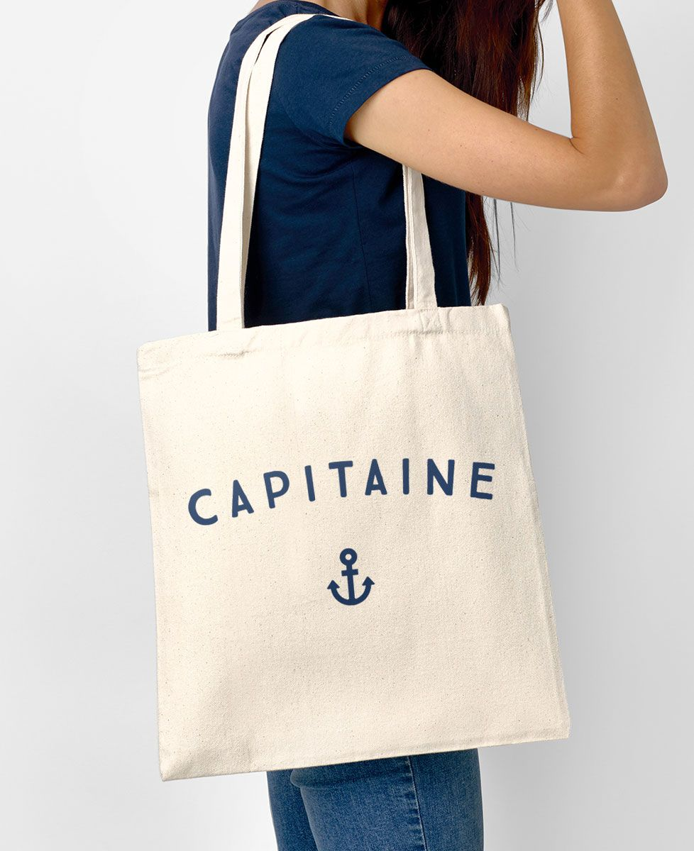 Tote bag Capitaine