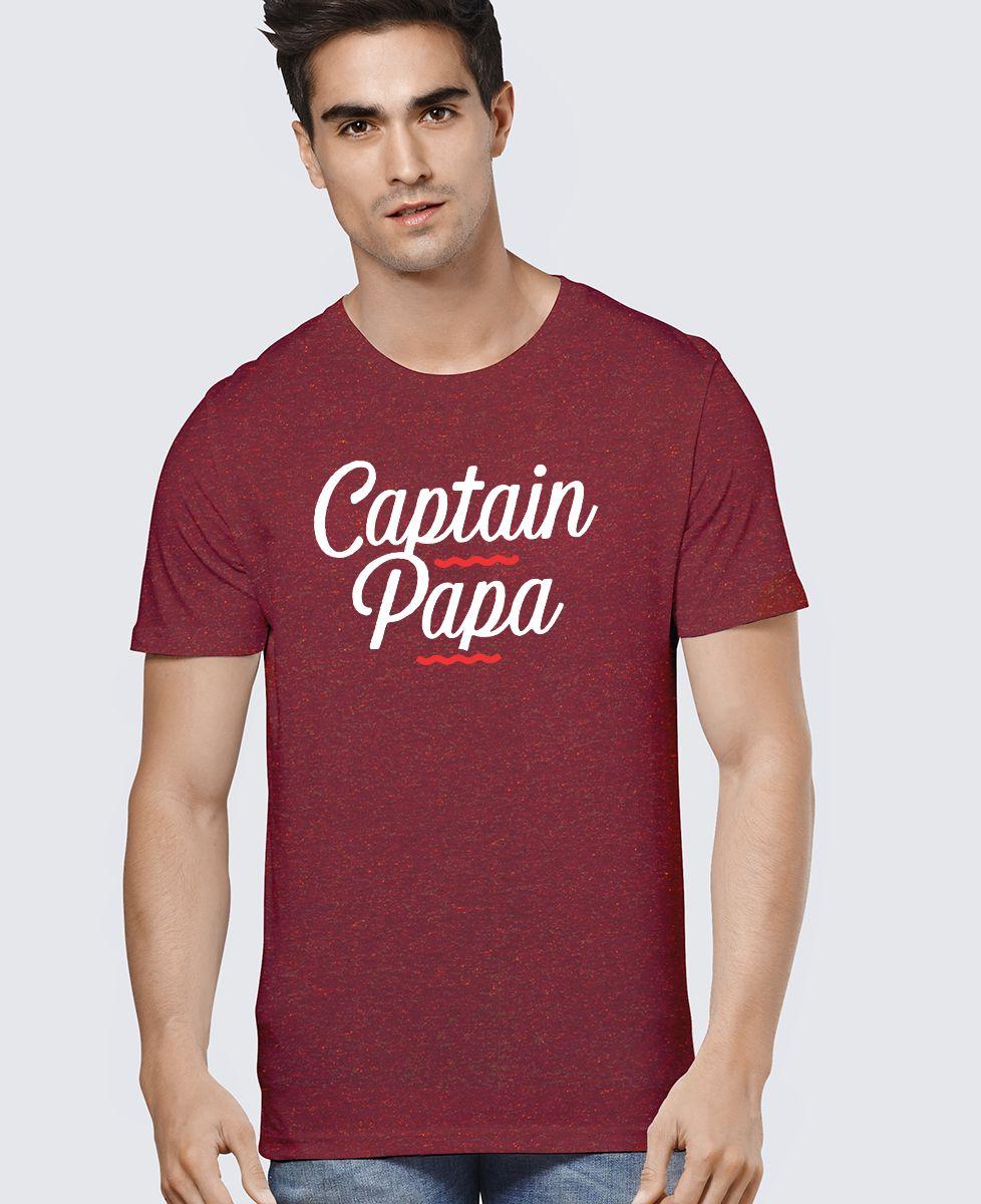 T-Shirt homme Captain papa