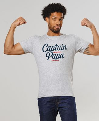 T-Shirt homme Captain papa
