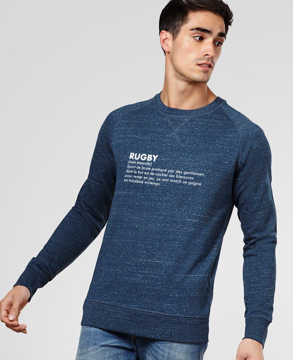 Sweatshirt homme Rugby