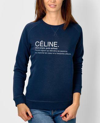 Sweatshirt femme Céline