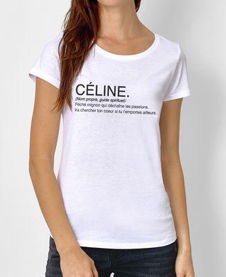 f8e7ae1132e T-Shirt femme Céline