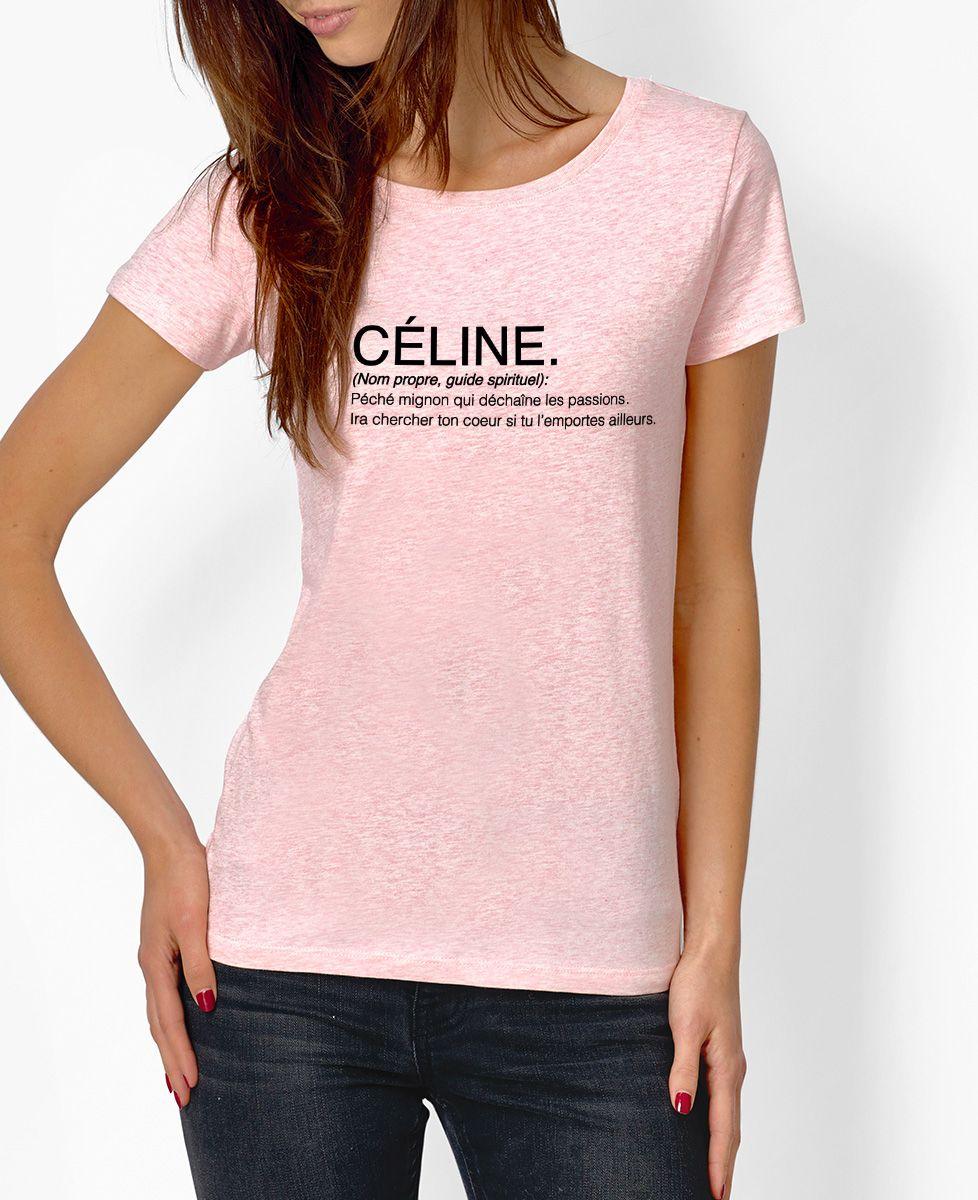 T-Shirt femme Céline
