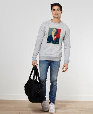 Sweatshirt homme René Coty