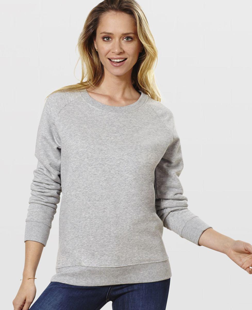 Sweatshirt femme Prénom & prénom personnalisé