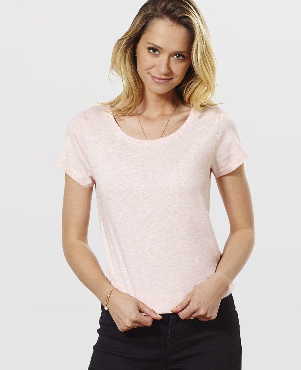 T-Shirt femme Prénom & prénom personnalisé