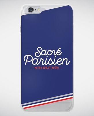 Coque smartphone Sacré parisien