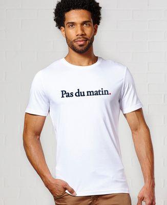 T-Shirt homme Pas du matin (brodé)